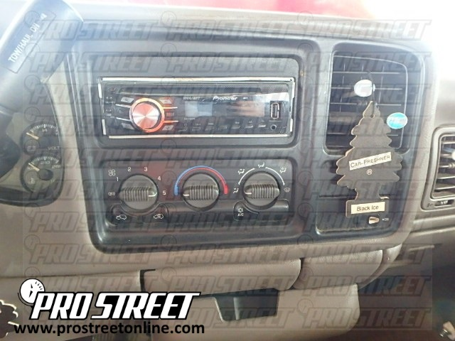 how to gmc sierra stereo wiring diagram  my pro street