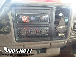 How To GMC Sierra Stereo Wiring Diagram  My Pro Street