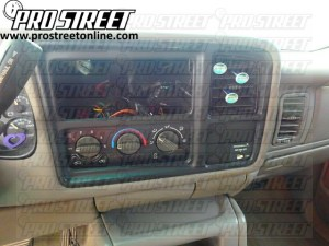 How To GMC Sierra Stereo Wiring Diagram  My Pro Street