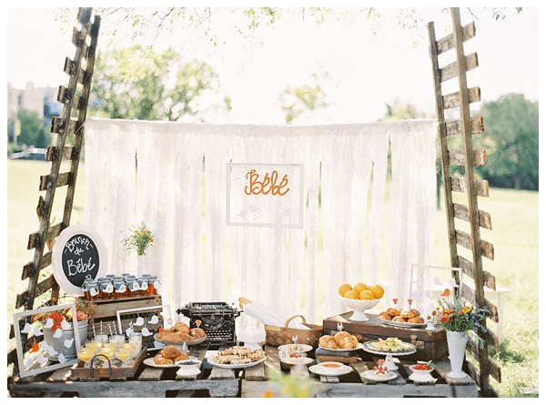 Our French Baby Shower Featured on Style Me Pretty