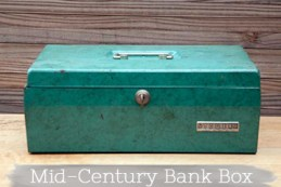 Teal Bank Box