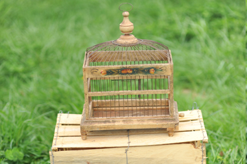 Small Antique Bird Cages