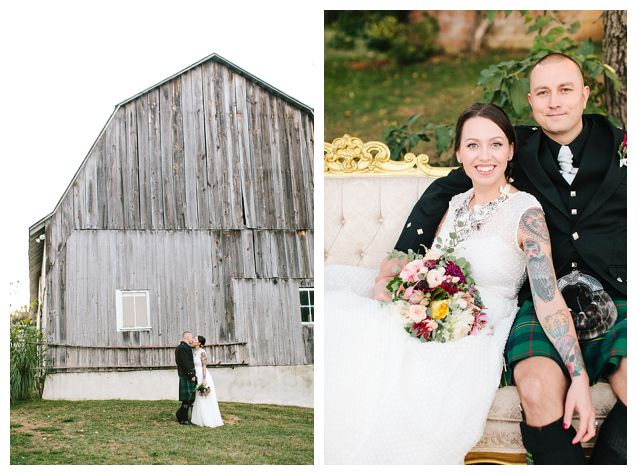 The Barns at Hamilton Station Wedding