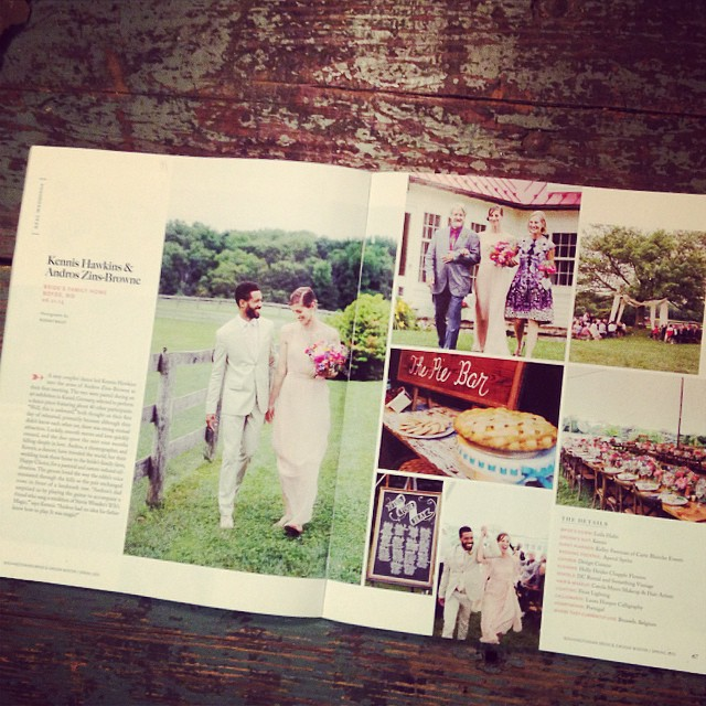 Excited and honored that Something Vintage's pieces were in two weddings featured by @washbridegroom magazine! Thank you to @kelleyevents and @karsonbutler for being incredible vendors!