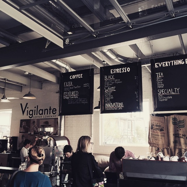 Addicted to @vigilantecoffee! #coffee #local #coffeeisadrug #welovedc #dc #bestflatwhiteever