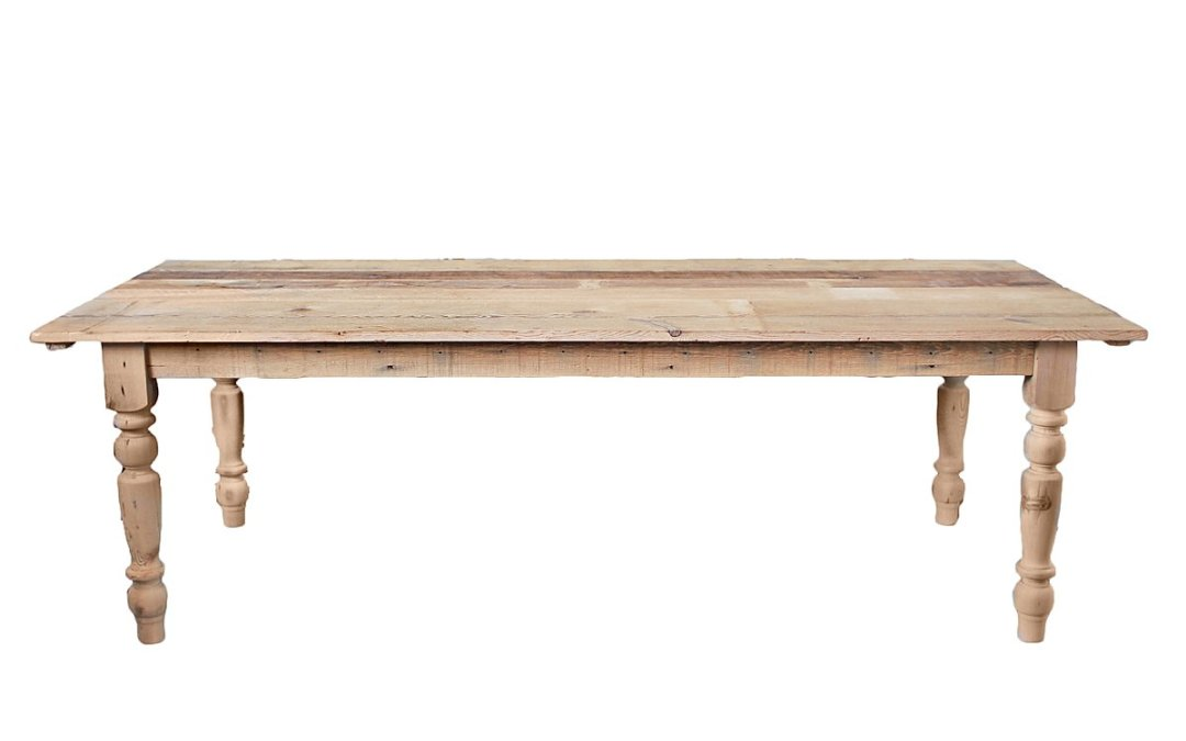 Meet our New Natural Farm Tables