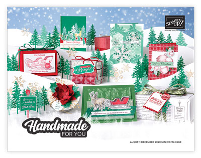 Stampin' Up! August to December Holiday Mini Catalogue