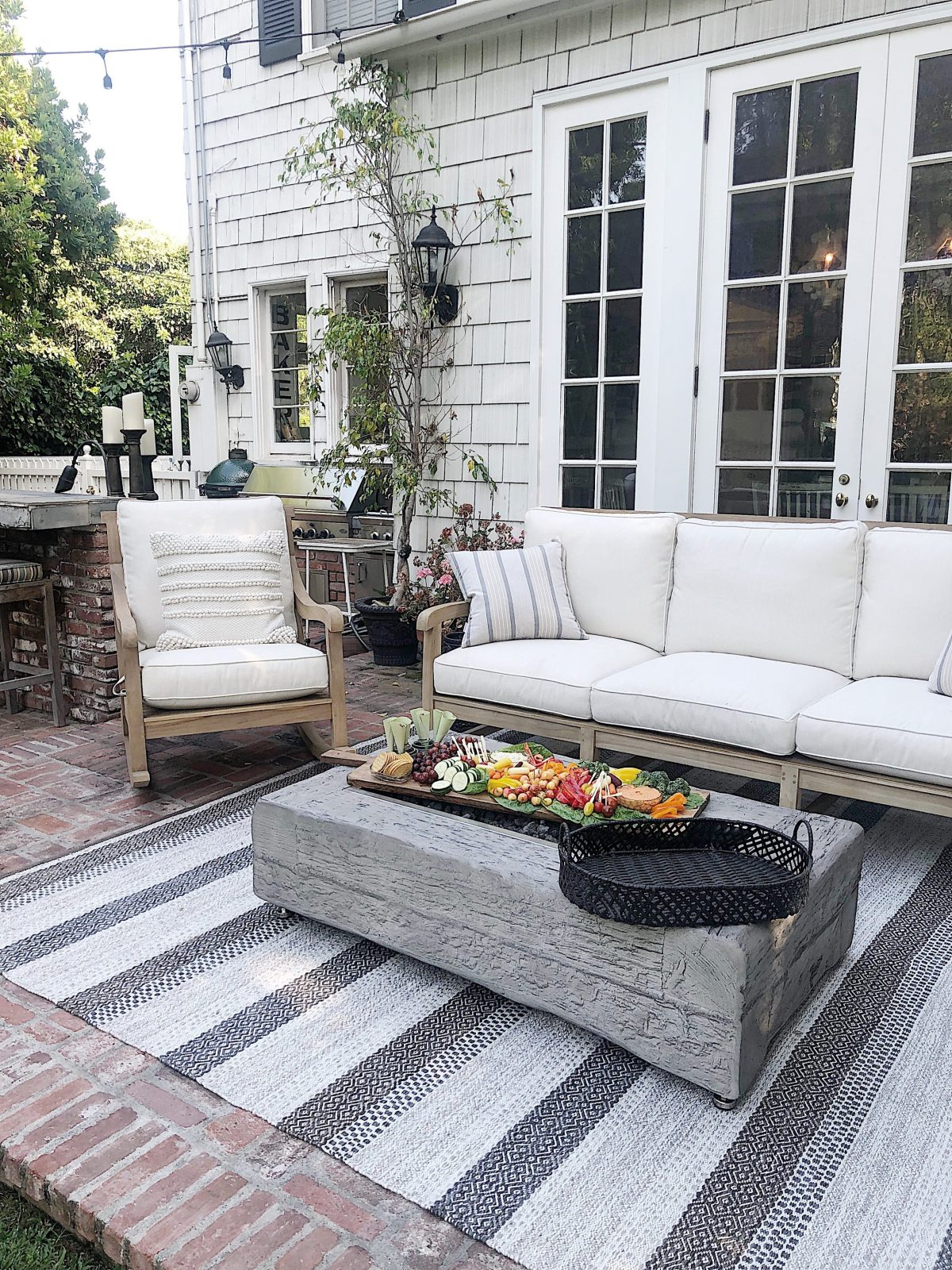 we found new outdoor patio furniture