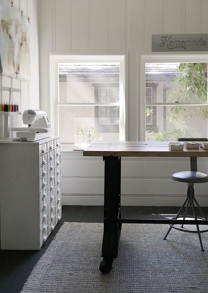 Craft Room Vintage Table