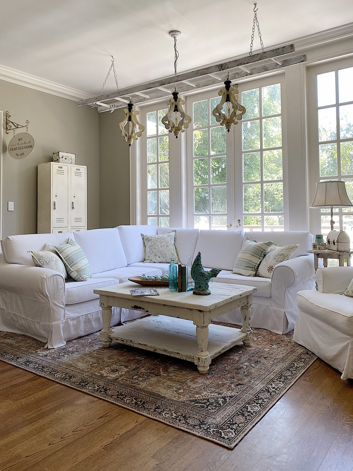 Summer Color Palette Family Room