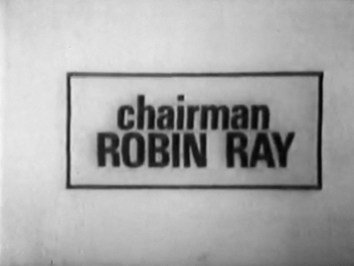 Your chairman is