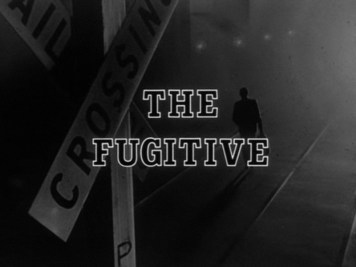 The Fugitive end title card