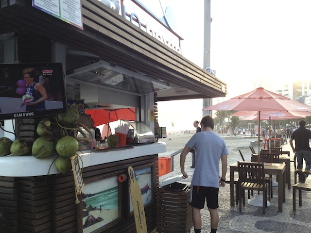 caipirinha stand