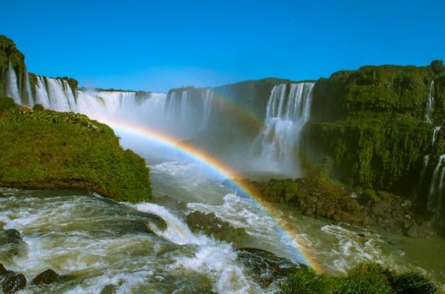brazil throat double rainbow