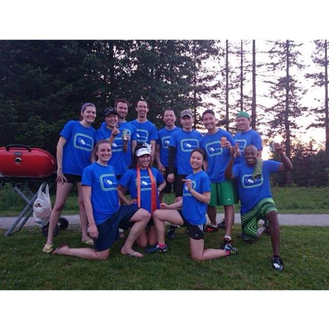 ultimate frisbee team