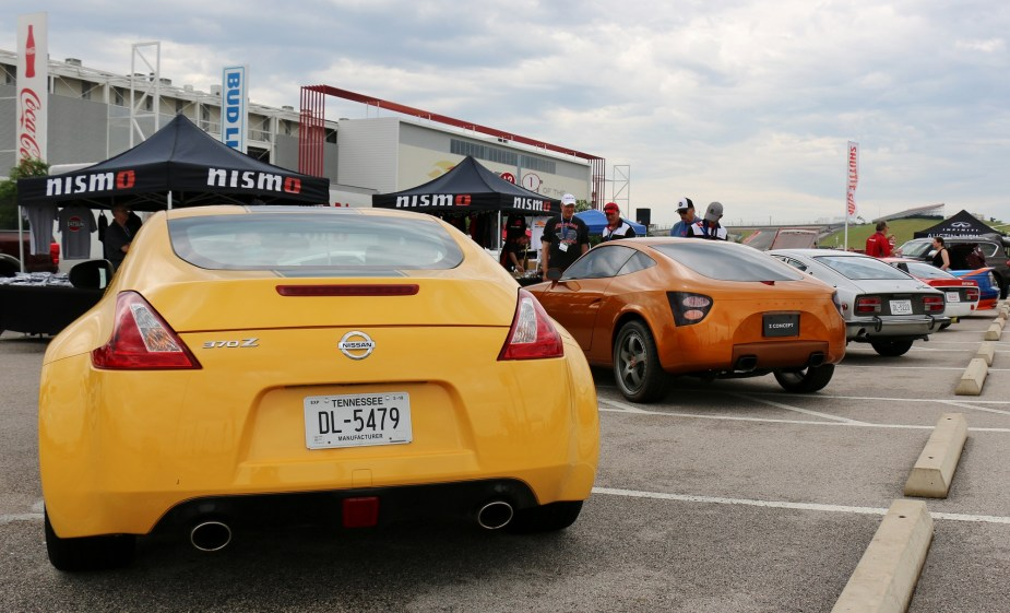 Nissan Z cars at ZCON