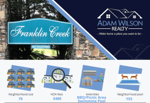 Franklin Creek – Hardin Valley, 37932
