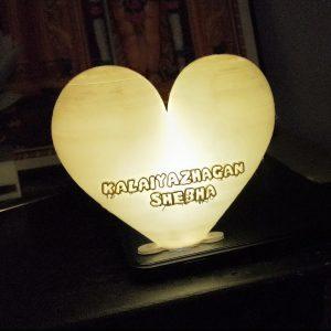 HEART SHAPE BALLON MOON LIGHT