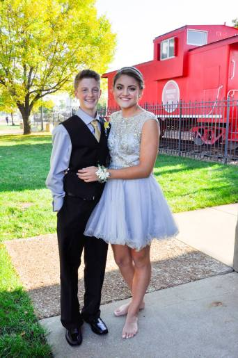 Carter and Kennedy- BSSHS Homecoming 2014