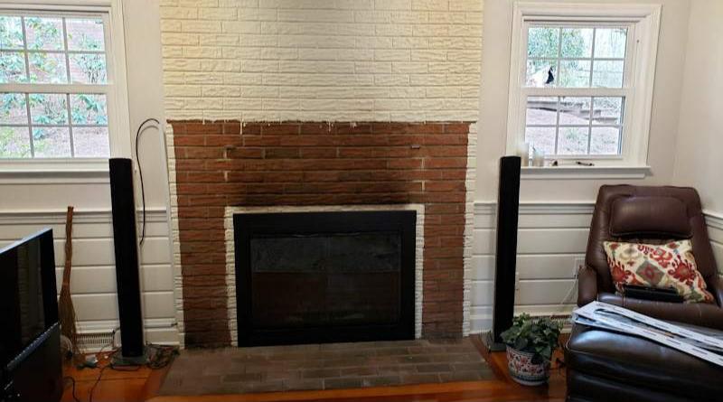 Build a Stunning Modern Fireplace & Mantel 4