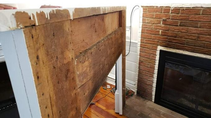 Build a Stunning Modern Fireplace and Mantle (Part 2) 1
