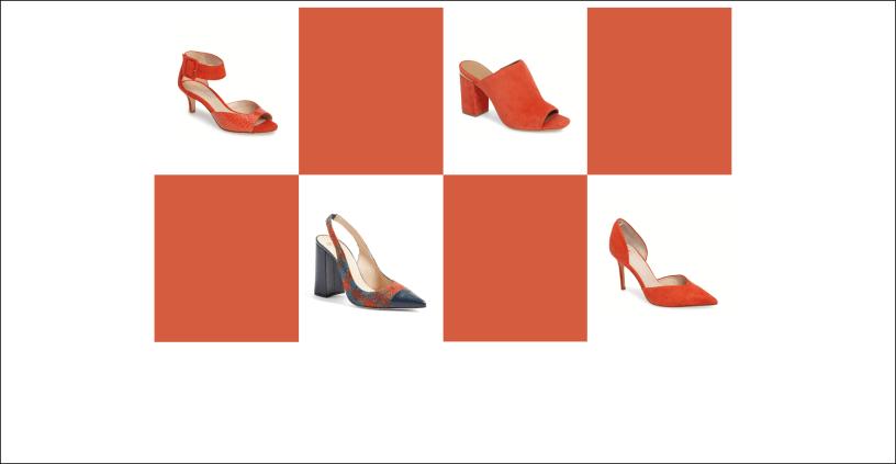 my9to5shoes.com My 9 to 5 Shoes Flame Pantone 2017 Seasonal Color
