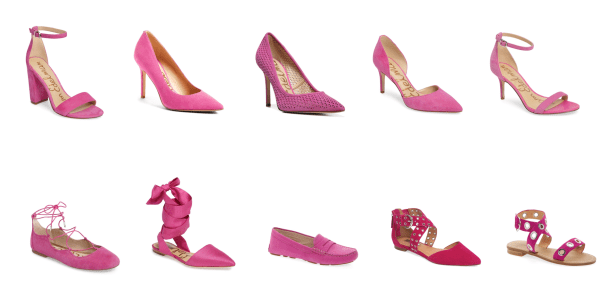 My9to5shoes.com My 9 to 5 Shoes Pink Yarrow Pantone 2017