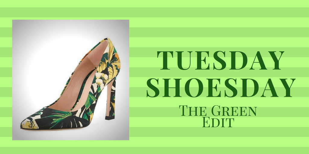 My9to5Shoes.com My 9 to 5 Shoes Tuesday Shoesday Green Shoes