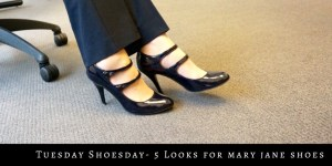 mY9to5shoes.com My 9 to 5 Shoes Mary Jane Shoes How to Style