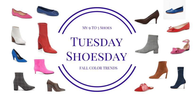 My9to5Shoes.com My 9 to 5 Shoes Fall Footwear Color Trends