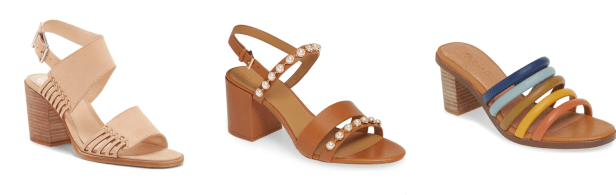 My 9 to 5 Shoes Summer Sandal Edit (in my cart)