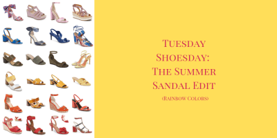 My 9 to 5 Shoes Summer Sandals Edit (Colorful Sandal)