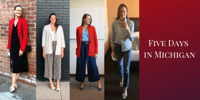 Five Days in Michigan What to Wear on a Business Trip