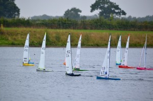 Racing was tight throughout the fleet - image by Sue Brown
