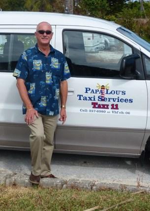 Papa Lous Taxi Service Marsh Habour Bahamas