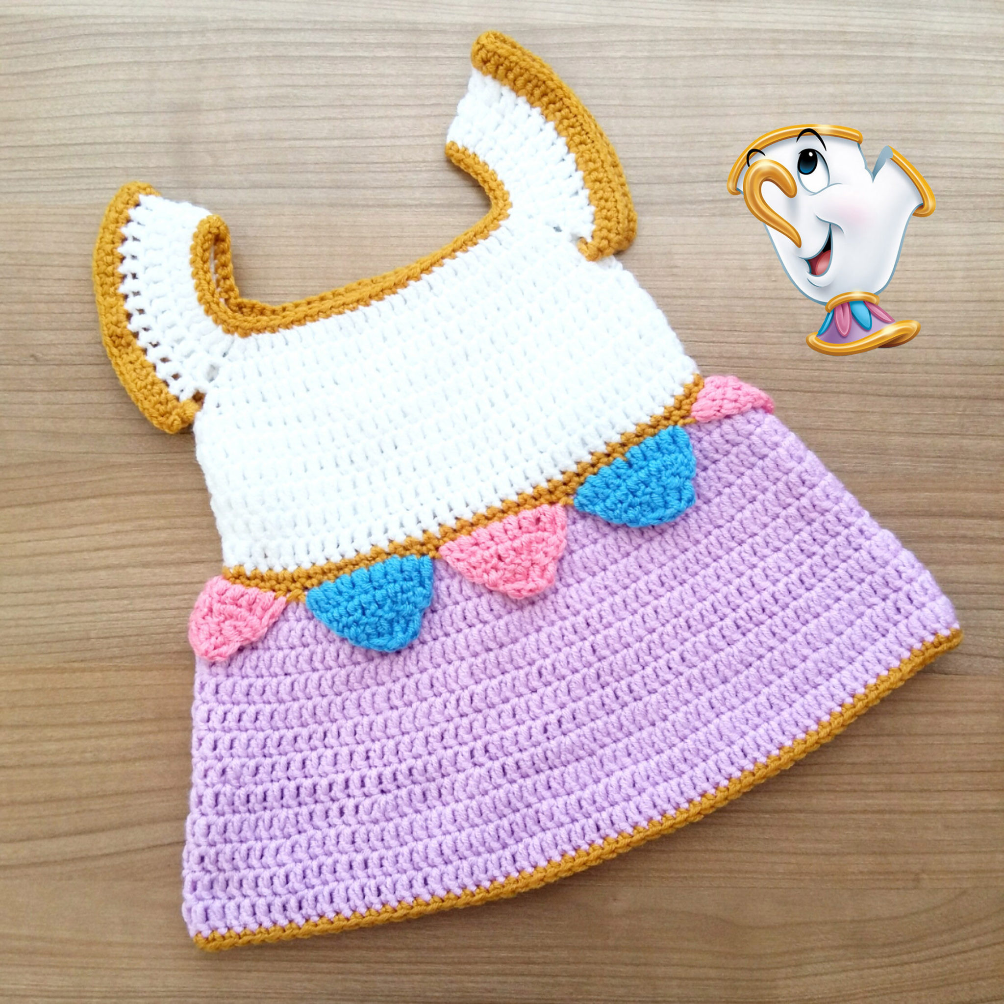 Chip the Teacup Baby Dress | Free Pattern - My Accessory Box
