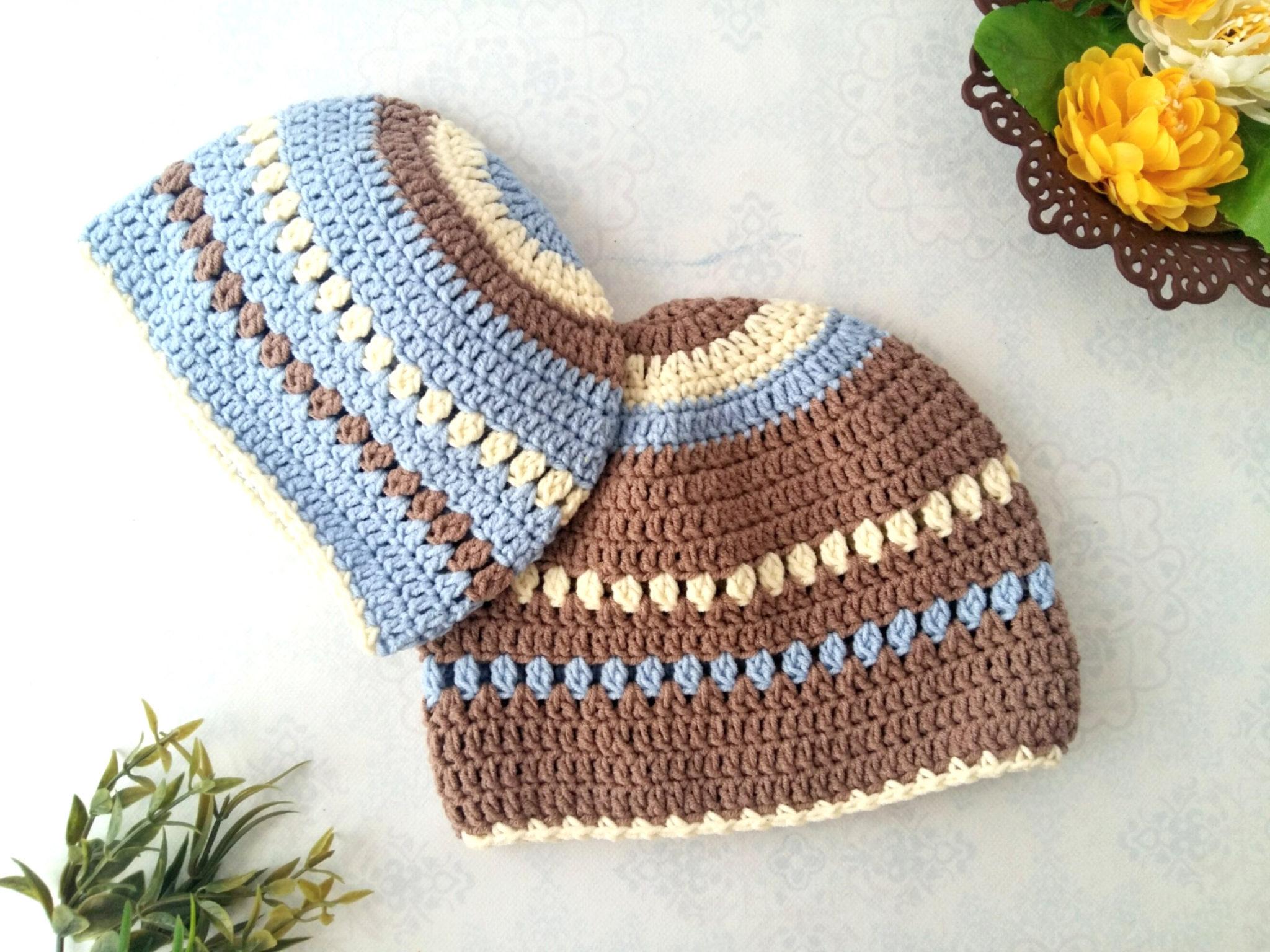 The Creamy Crochet Baby Beanie | Free crochet pattern - My Accessory Box