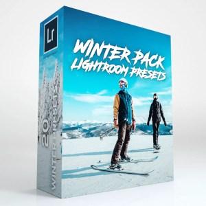 20 Winter Lightroom Presets (Desktop and Mobile)