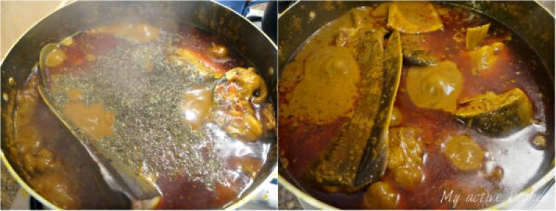 image of how to make banga soup