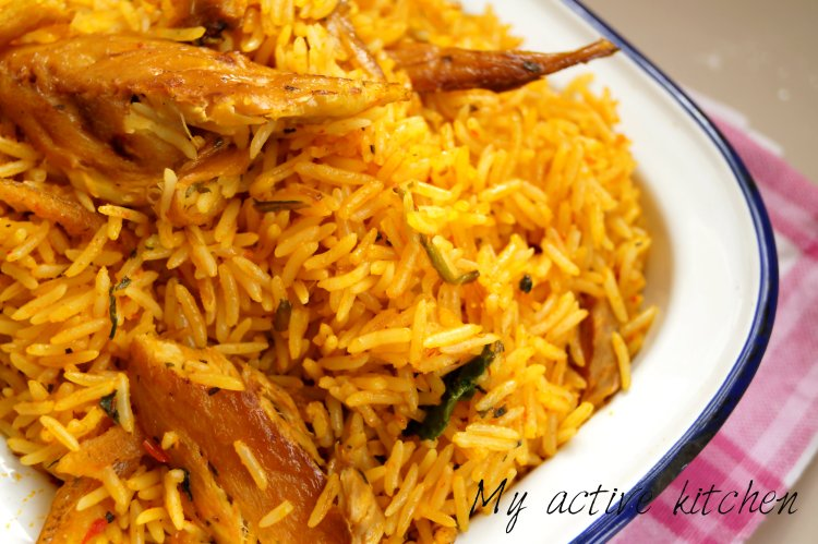 how to cook palm oil rice