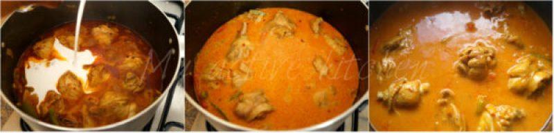 chicken curry in coconut milk
