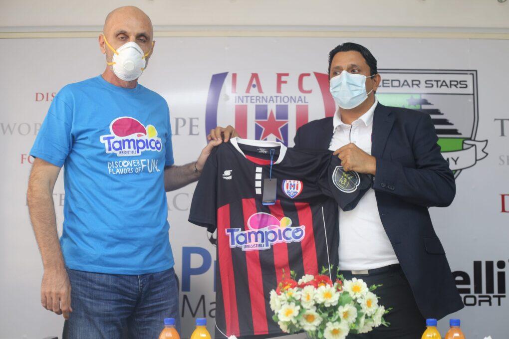 Tampico becomes headline sponsor for Inter Allies
