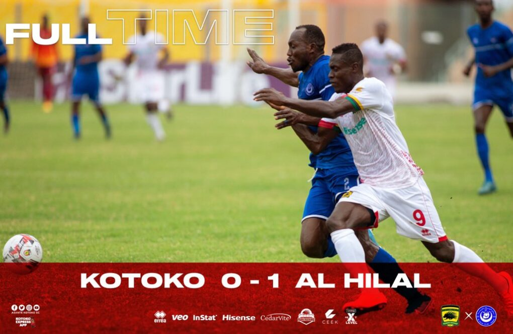 Kotoko Continue To Fall As Al Hilal Sting Ghanaian Giants 0-1 In Accra