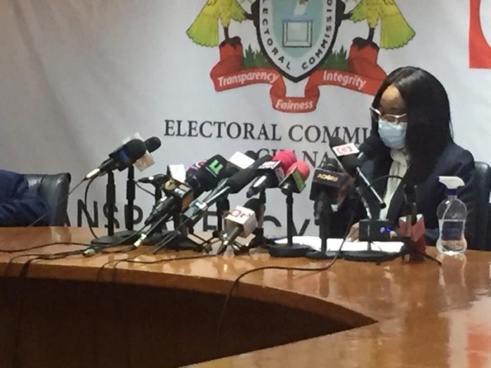 EC apologises for delayed results, urges calm