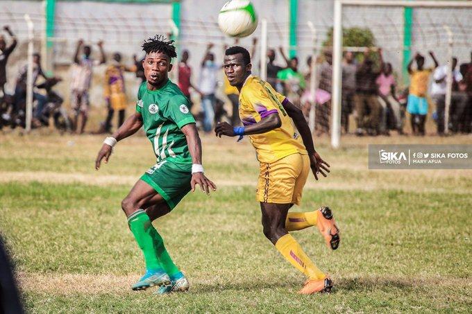 Ghana Premier League: King Faisal 1-0 Medeama – In-form Kwame Peprah stuns desperate Medeama