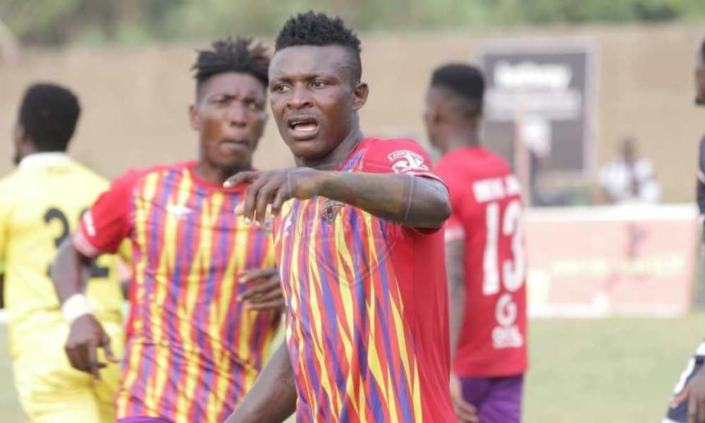 HIGHLIGHTS: Isaac Mensah's lone goal gives Hearts of Oak win over Liberty Professionals