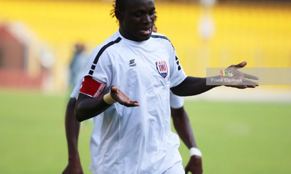 Victorien Adebayor joins Legon Cities on loan from HB Koge
