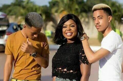 I punished My Son For Sharing Photos Of Him And His Girlfriend – Afia Schwarzenegger