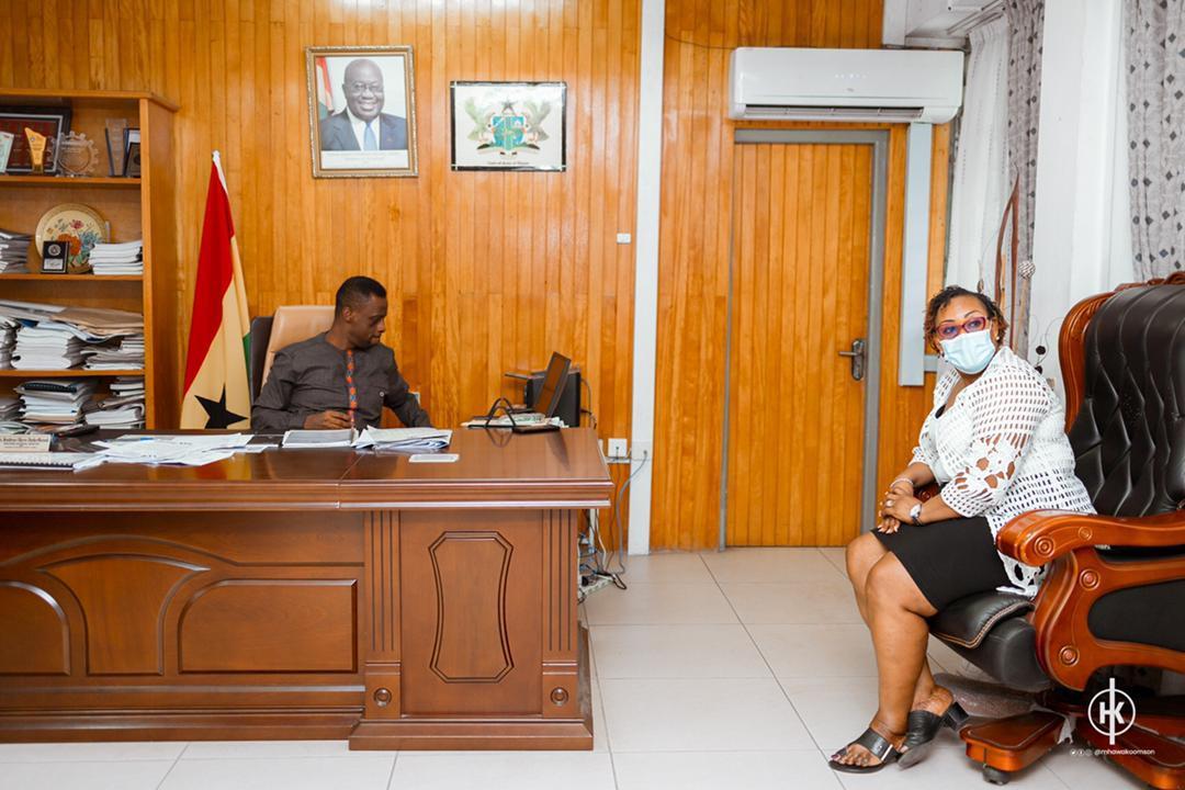 Fisheries Minister Tours Western Region