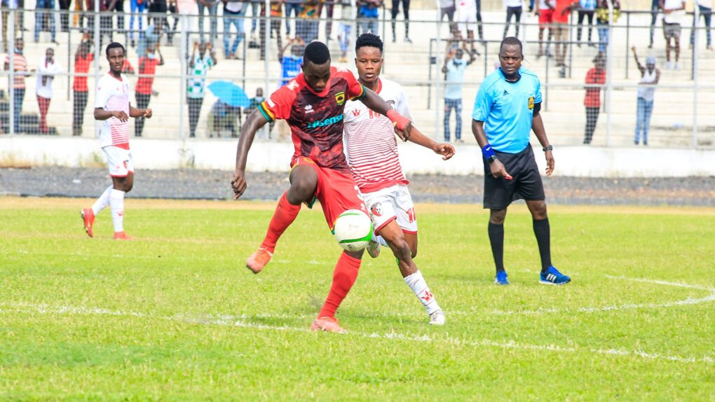 Kotoko Held By WAFA To Leave Hearts Of Oak At Summit Of League Table